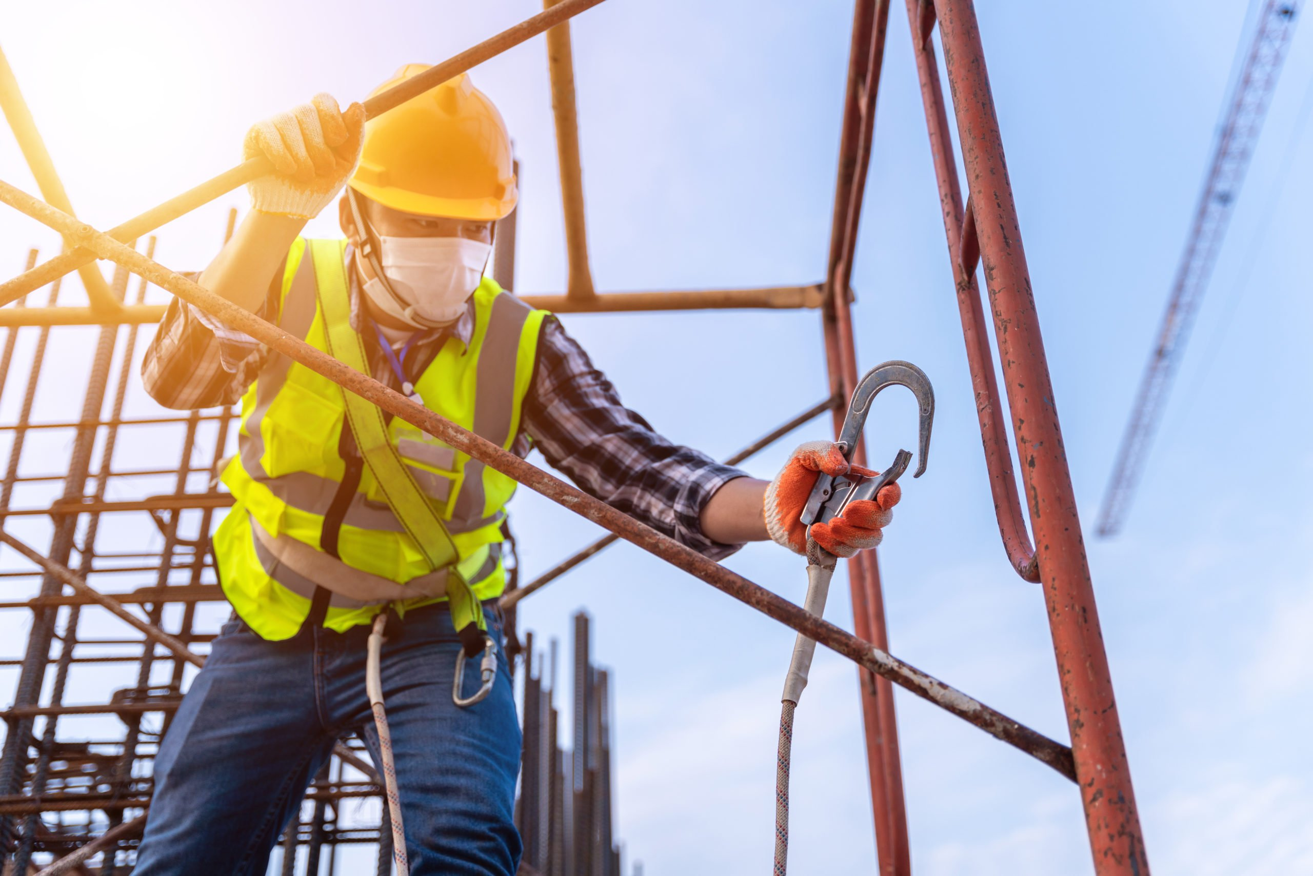 working safely at heights